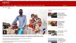 BBC Asia, Screenshot. 26. April 2021.