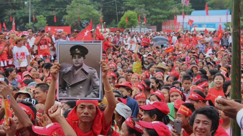 NLD Wahlkampagne, Oktober 2015