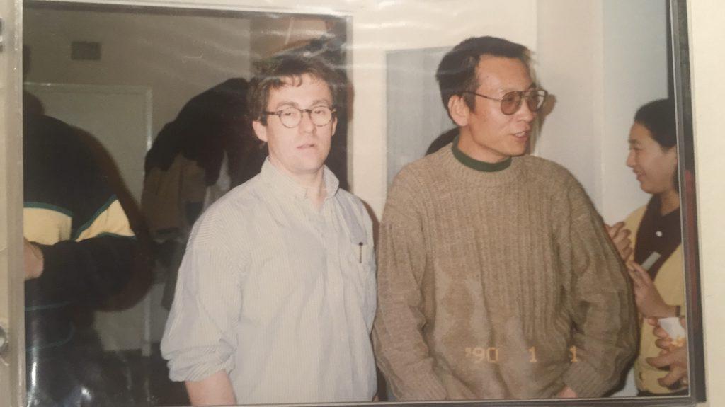 Gestern von vier Jahren verstarb mein persönlicher Freund Liu Xiaobo in chinesischen Haft.