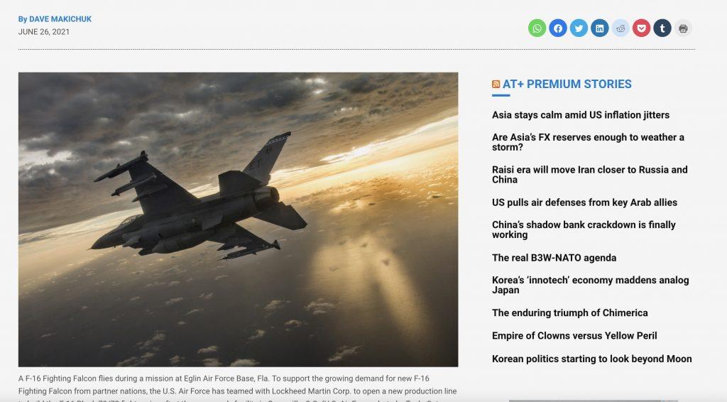 Asia Times. 28. June 2021. Screenshot.