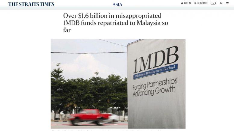 The Straits Times. 5. August 2021. Screenshot.